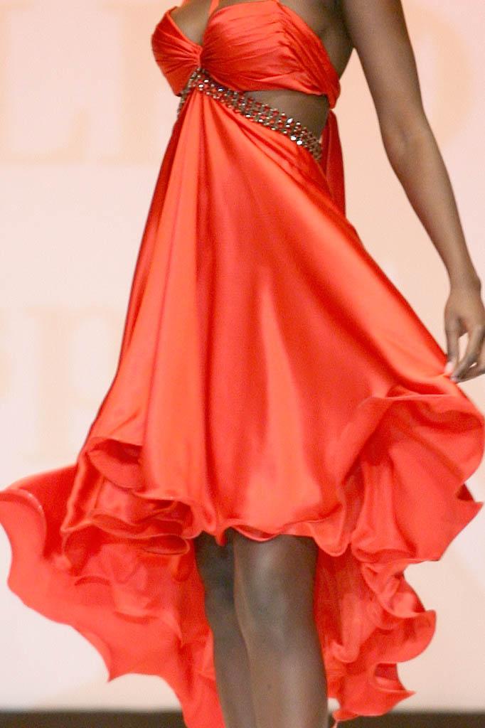 cerimonia abito rosso