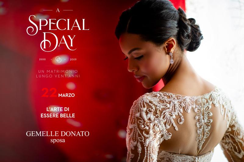 A Special Day – Venerdi 22 Marzo – Un matrimonio lungo venta'anni